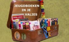 valies met boeken